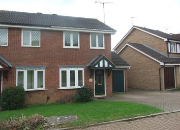 Thumbnail Semi-detached house to rent in Poppy Drive, Rugby