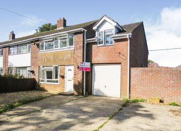 Thumbnail 4 bed end terrace house for sale in Groves Close, South Wonston, Winchester