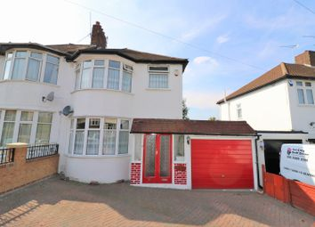 Thumbnail 3 bed semi-detached house for sale in Dovedale Avenue, Ilford