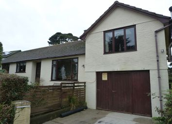 Thumbnail 4 bed detached bungalow for sale in Killigarth, Looe