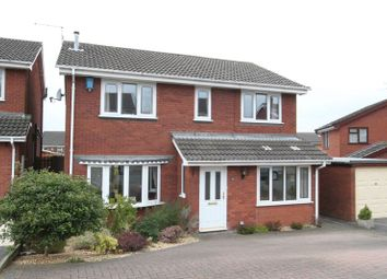 Thumbnail 4 bedroom detached house for sale in Hopedale Close, Clayton, Newcastle-Under-Lyme