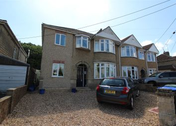 Thumbnail 4 bed semi-detached house for sale in Spanbourn Avenue, Chippenham