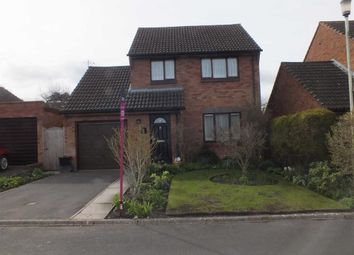 Thumbnail 3 bed detached house for sale in Cheyney Walk, Westbury, Wiltshire