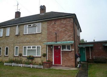 Thumbnail 1 bed flat to rent in Lavender Crescent, Peterborough