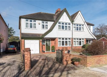 Thumbnail 4 bed semi-detached house for sale in Dysart Avenue, Kingston Upon Thames