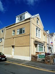 Thumbnail 4 bed flat to rent in Phillips Parade, Brynmill, Swansea