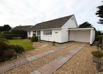 Thumbnail 2 bed detached bungalow to rent in Tregurthen Close, Camborne, Cornwall