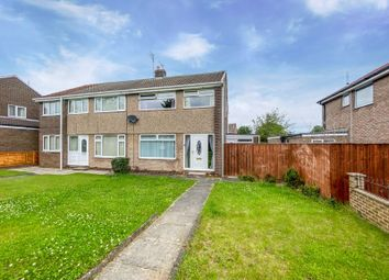 Thumbnail 3 bed semi-detached house for sale in Aislaby Grove, Billingham