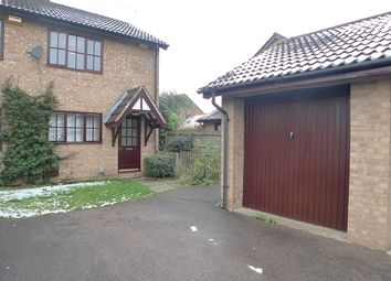 Thumbnail 2 bedroom semi-detached house to rent in Nottingham Way, Peterborough, Cambridgeshire.