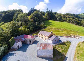Thumbnail 4 bed detached house to rent in Garth, Glyn Ceiriog, Llangollen