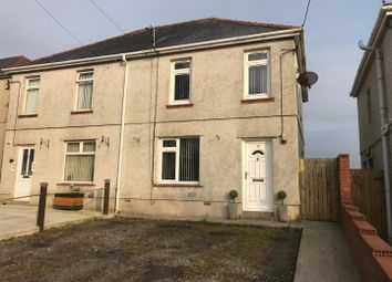 Thumbnail 3 bed semi-detached house for sale in Kew Gardens, Upper Tumble, Llanelli