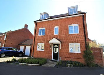 Thumbnail 4 bedroom detached house for sale in Newson Road, Taw Hill, Swindon