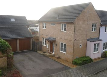 Thumbnail 3 bedroom semi-detached house for sale in Flexerne Crescent, Ashland, Milton Keynes