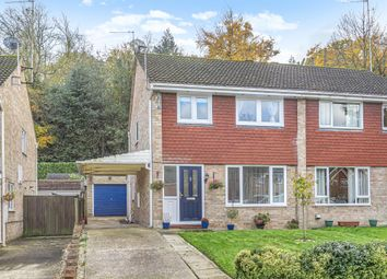 Thumbnail 3 bed semi-detached house for sale in Bagshot, Surrey