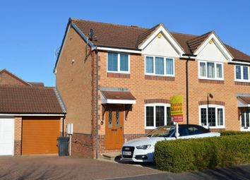 Thumbnail 3 bed semi-detached house for sale in Azalea Road, Wick-St-Lawrence, Weston-Super-Mare