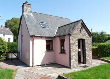 Thumbnail 1 bed detached house to rent in Pentre Bach, Brecon