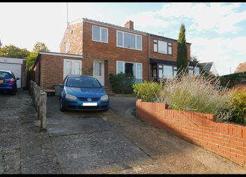 Thumbnail 3 bed semi-detached house for sale in The Drive, Hounsdown, Totton, Southampton