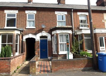Thumbnail 2 bedroom terraced house to rent in Kerrison Road, Norwich