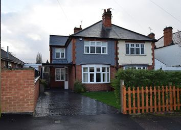 Thumbnail 4 bed semi-detached house for sale in Greenland Drive, Leicester