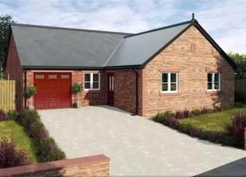 Thumbnail 3 bed detached bungalow for sale in Plot H1, Thornedge Gardens, Cumwhinton, Carlisle