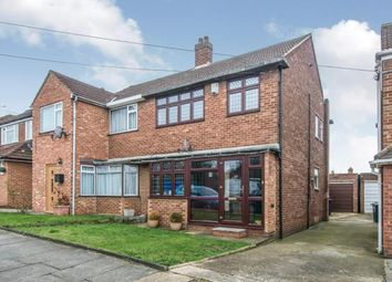 Thumbnail 3 bedroom semi-detached house for sale in Tynedale Close, Dartford, Kent