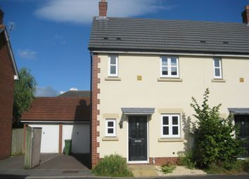 Thumbnail 2 bed semi-detached house to rent in Persimmon Gardens, Cheltenham