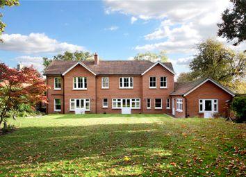 Thumbnail 6 bedroom detached house for sale in Chertsey Road, Windlesham, Surrey
