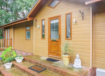 Thumbnail 2 bed lodge for sale in Hurn Road, Matchams, Ringwood