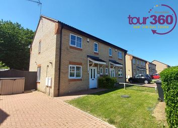 Thumbnail 2 bed semi-detached house for sale in Hartwell Way, Peterborough