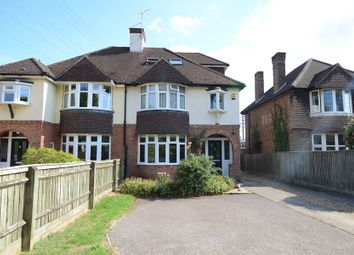 Thumbnail 4 bed semi-detached house to rent in Weybourne Road, Farnham