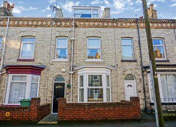 Thumbnail 4 bed terraced house for sale in Rothbury Street, Scarborough