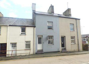 Thumbnail 2 bed terraced house for sale in Sand Street, Pwllheli, Gwynedd