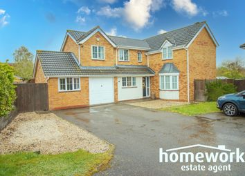 Thumbnail 4 bed detached house for sale in Blackthorn Drive, Scarning