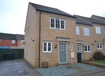 Thumbnail 2 bed terraced house to rent in Turner Drive, Ely, Cambridgeshire