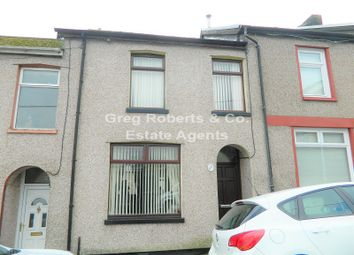 Thumbnail 3 bed terraced house for sale in Glandovey Terrace, Tredegar, Blaenau Gwent.