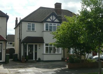 Thumbnail 3 bed semi-detached house to rent in Poole Road, West Ewell, Epsom