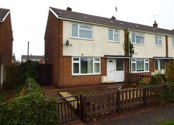 Thumbnail 3 bed end terrace house for sale in Ferndale Close, New Ollerton, Nottinghamshire