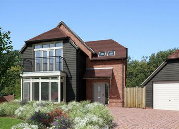 Thumbnail 4 bed detached house for sale in Bighton Hill, Ropley, Alresford, Hampshire