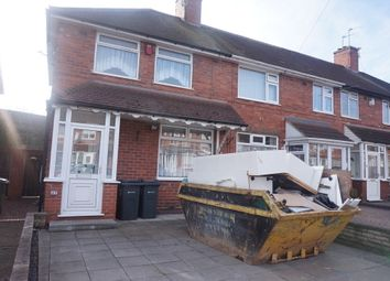 Thumbnail 3 bed end terrace house for sale in Wingfield Road, Great Barr, Birmingham