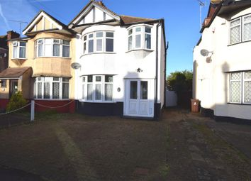 Thumbnail 3 bedroom semi-detached house for sale in Geneva Gardens, Chadwell Heath, Romford
