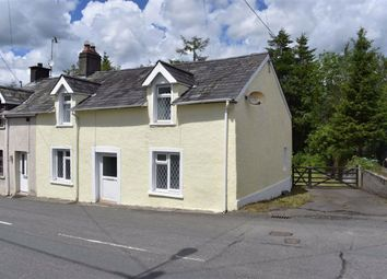 Thumbnail 2 bedroom end terrace house for sale in Llanybydder