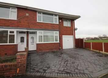 Thumbnail 4 bed semi-detached house for sale in Norton Avenue, Urmston, Manchester