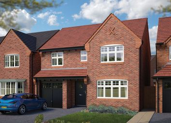 "Thumbnail 4 bed detached house for sale in ""The Lincoln"" at Heron Way, Edleston, Nantwich"