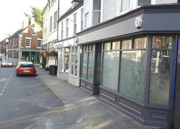 Thumbnail Retail premises to let in High Street, Market Drayton