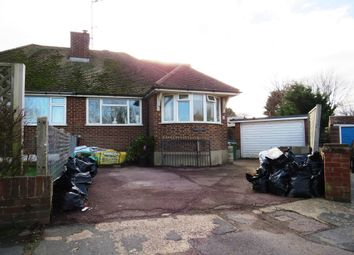 Thumbnail 3 bed semi-detached bungalow for sale in Dymchurch Close, Seaford