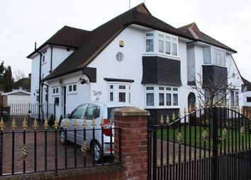 Thumbnail 4 bed link-detached house for sale in Woodham Road, London