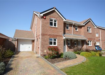 Knight Gardens, Lymington SO41. 3 bed semi-detached house for sale