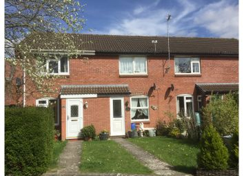 Thumbnail 2 bed terraced house for sale in Bradbury Close, Chippenham