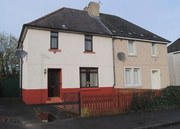 Thumbnail 3 bed semi-detached house for sale in Park Drive, Newmains