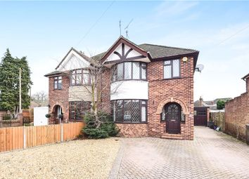 Thumbnail 3 bed semi-detached house for sale in Wyndham Crescent, Woodley, Reading